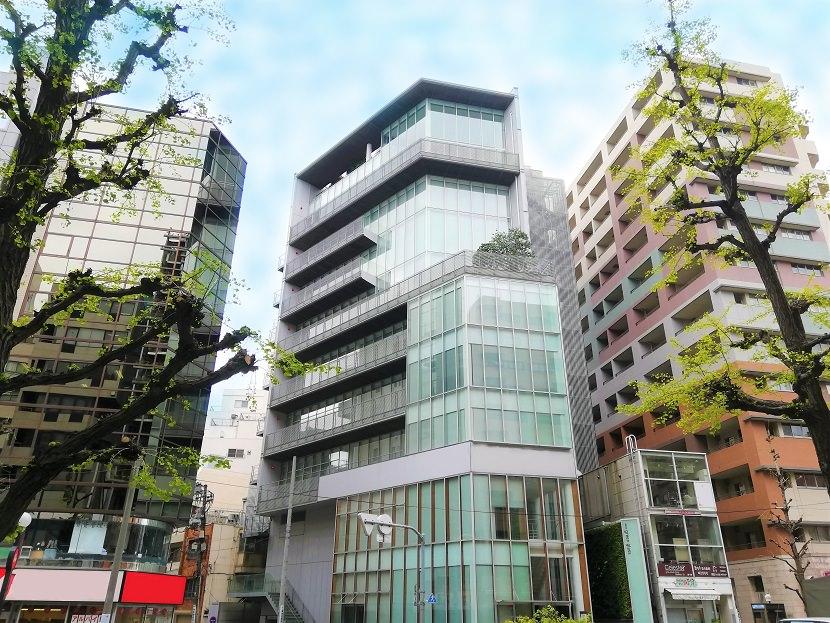 コワーキングスペース「コンパスオフィス 恵比寿グリーングラス」の外観